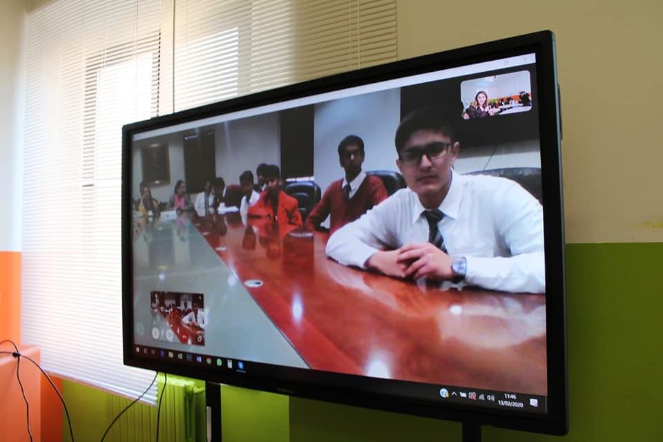 Meeting con la Scuola GD GOENKA di New Delhi