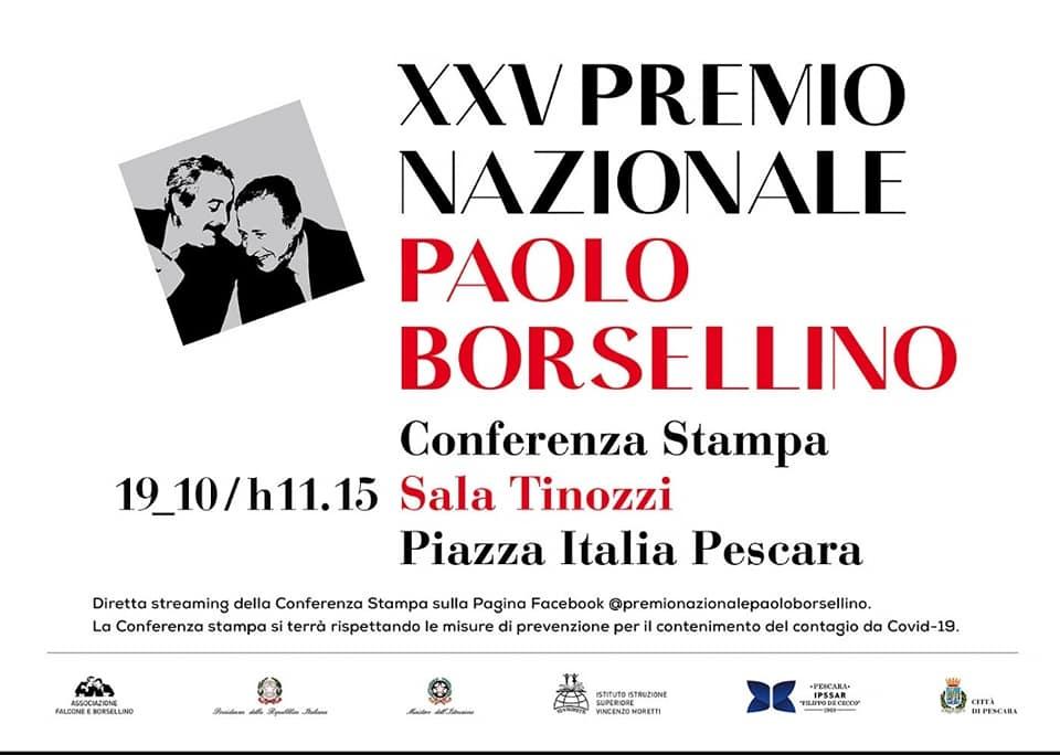 Presentazione Premio Borsellino XXV edizione