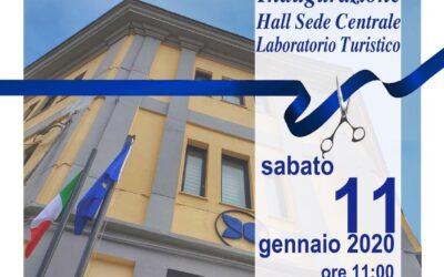 Inaugurazione della Hall – Laboratorio Turistico