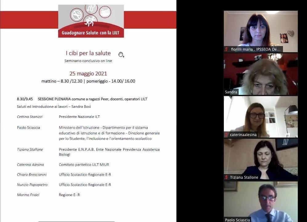 Seminario conclusivo del Progetto LILT