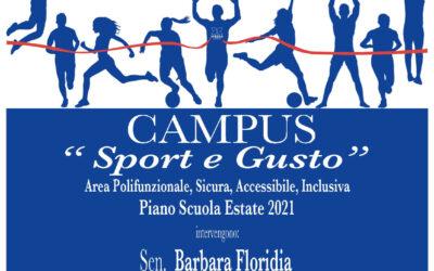 """Inaugurazione del Campus """"Sport e Gusto"""""""