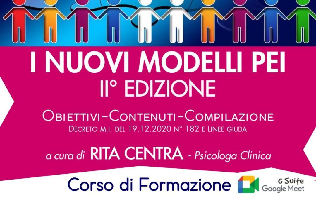 """Corso """"I nuovi modelli PEI"""""""
