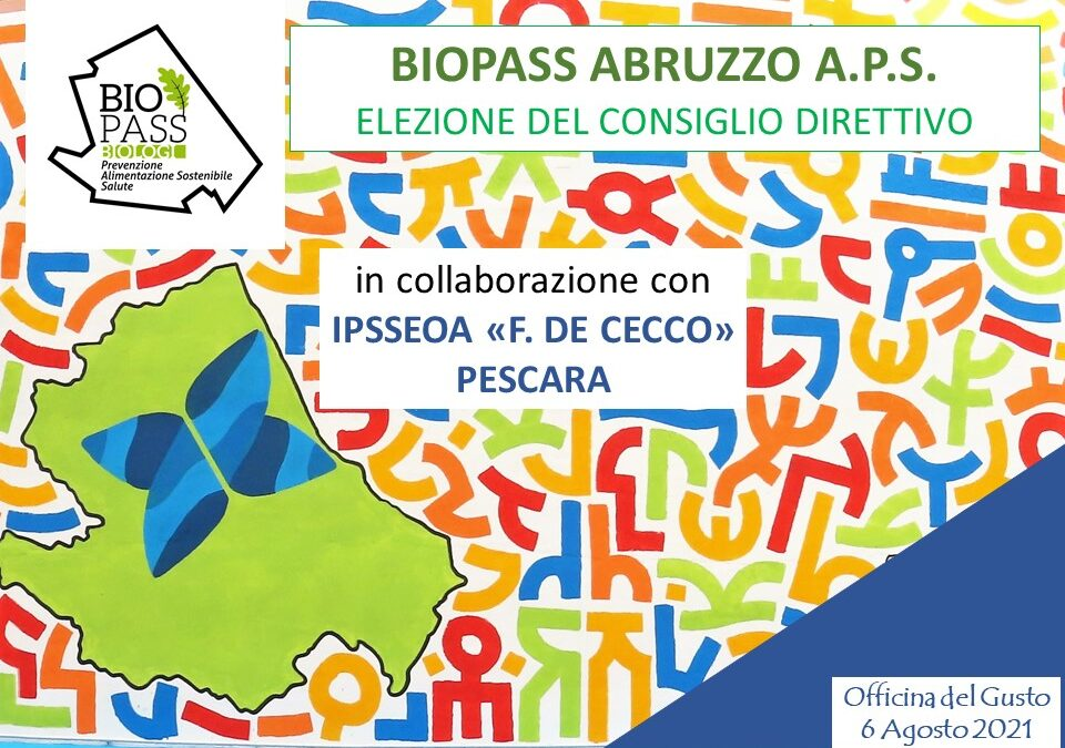 Assemblea BioPass Abruzzo
