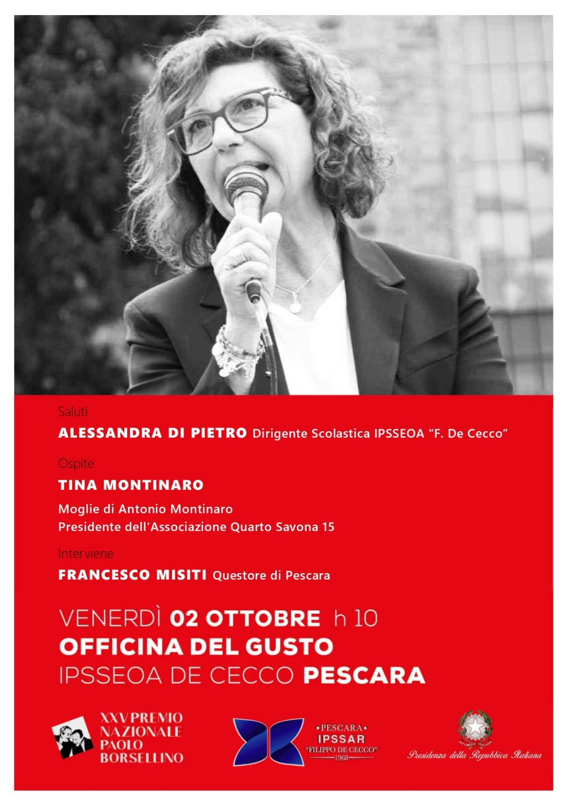 Incontro con Tina Montinaro