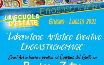 Inaugurazione del Murales e del Laboratorio artistico creativo