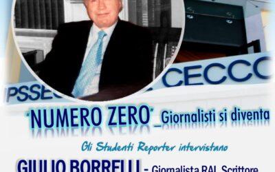 Gli studenti intervistano Giulio Borrelli