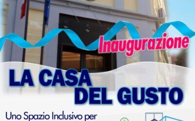 Inaugurazione della Casa del Gusto