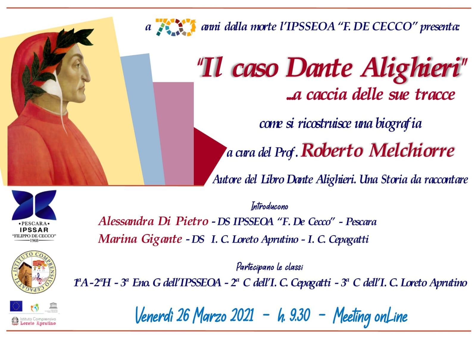 Il caso Dante Alighieri