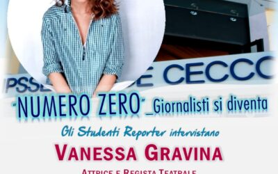 Gli studenti intervistano Vanessa Gravina