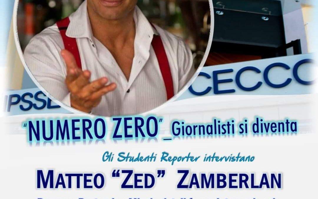 """Gli studenti intervistano Matteo """"Zed"""" Zamberlan"""