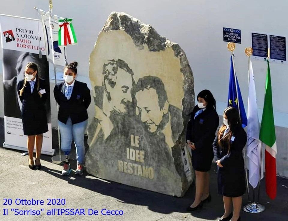 """Il """"Sorriso"""" all' IPSSAR De Cecco"""