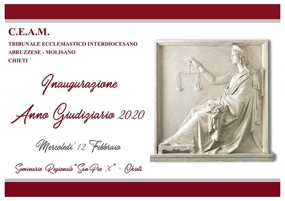 Inaugurazione Anno Giudiziario Tibunale Ecclesiastico